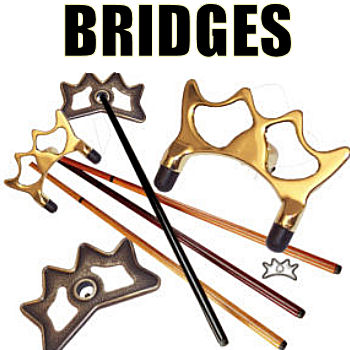 Bridge Sticks, Bridge Heads & Cue Extensions