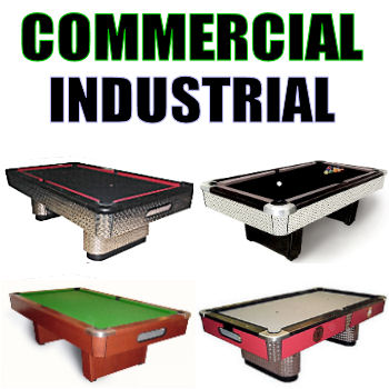 Commercial   Industrial Pool Tables