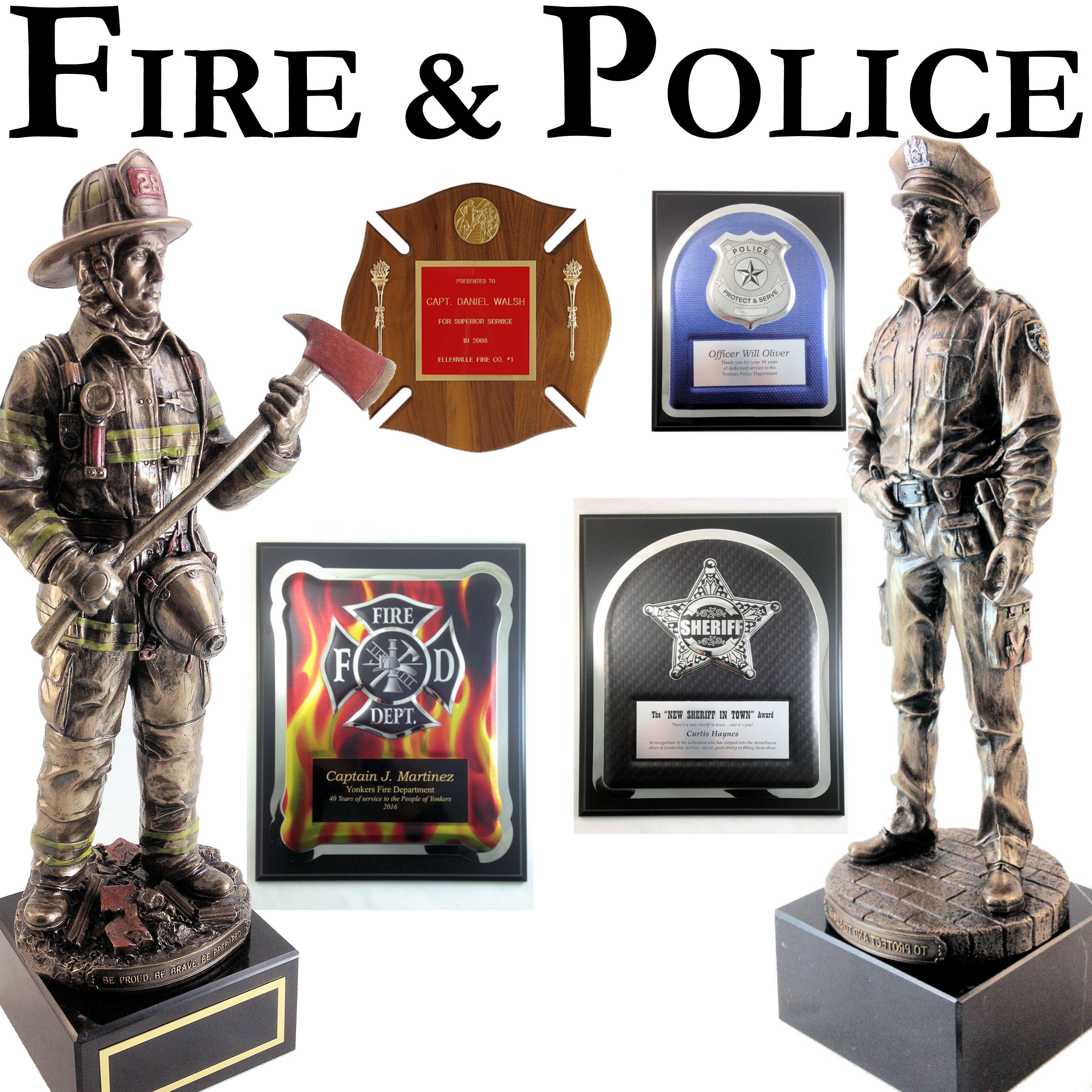 AWARDS - TROPHIES • PLAQUES • ACRYLIC • CRYSTAL • CLOCKS