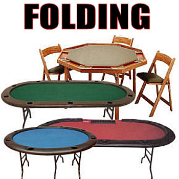 Folding Poker Tables