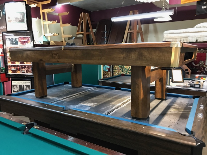 SOLD PreOwned Ft Brunswick Buckingham Pool Table Loria Awards - El pool table