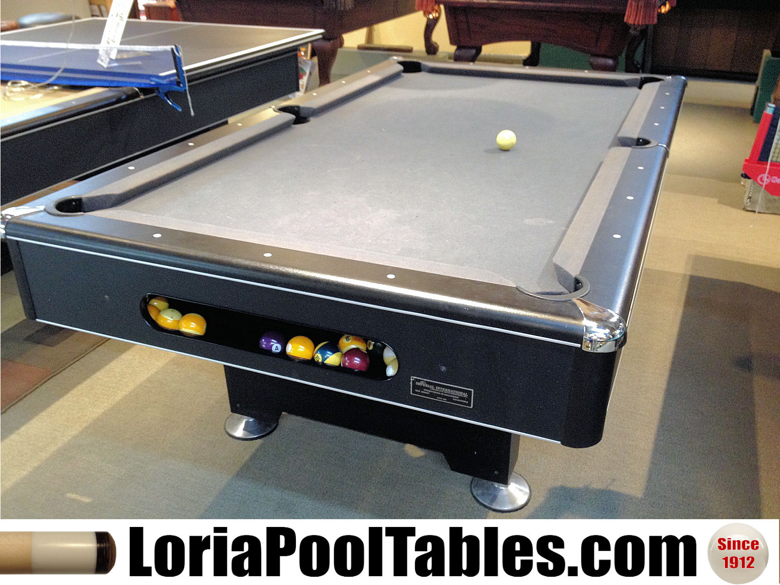 SOLDPreowned Ft Eliminator Pool Table Loria Awards - Eliminator pool table