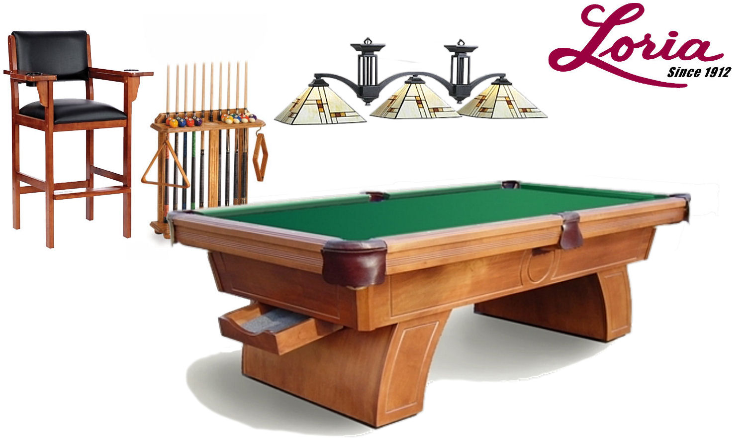 Brooklyn Series 3 Shade Pool Table Light Fixture