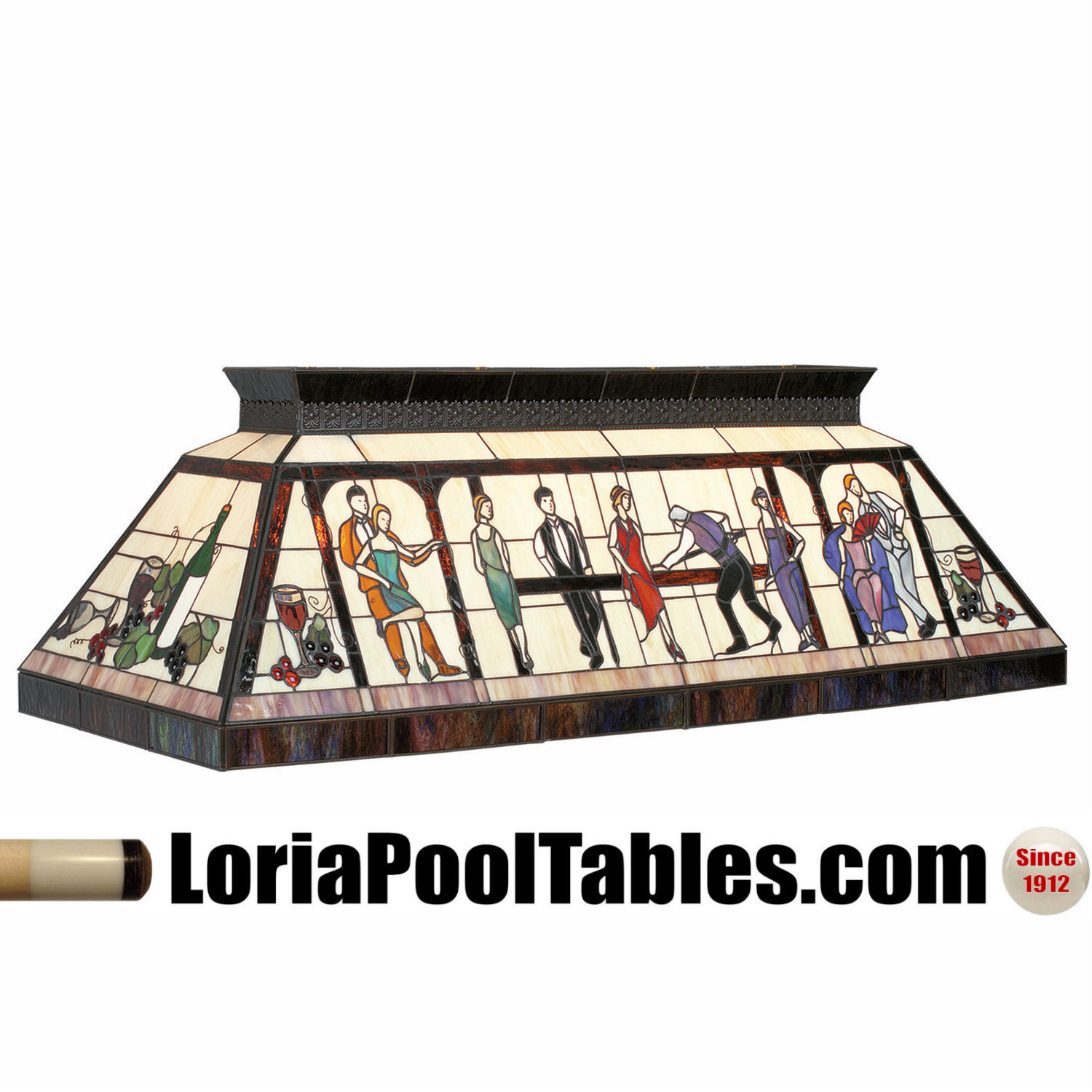 Lounge Theme Glass Pool Table Light Fixture @ Loria Awards