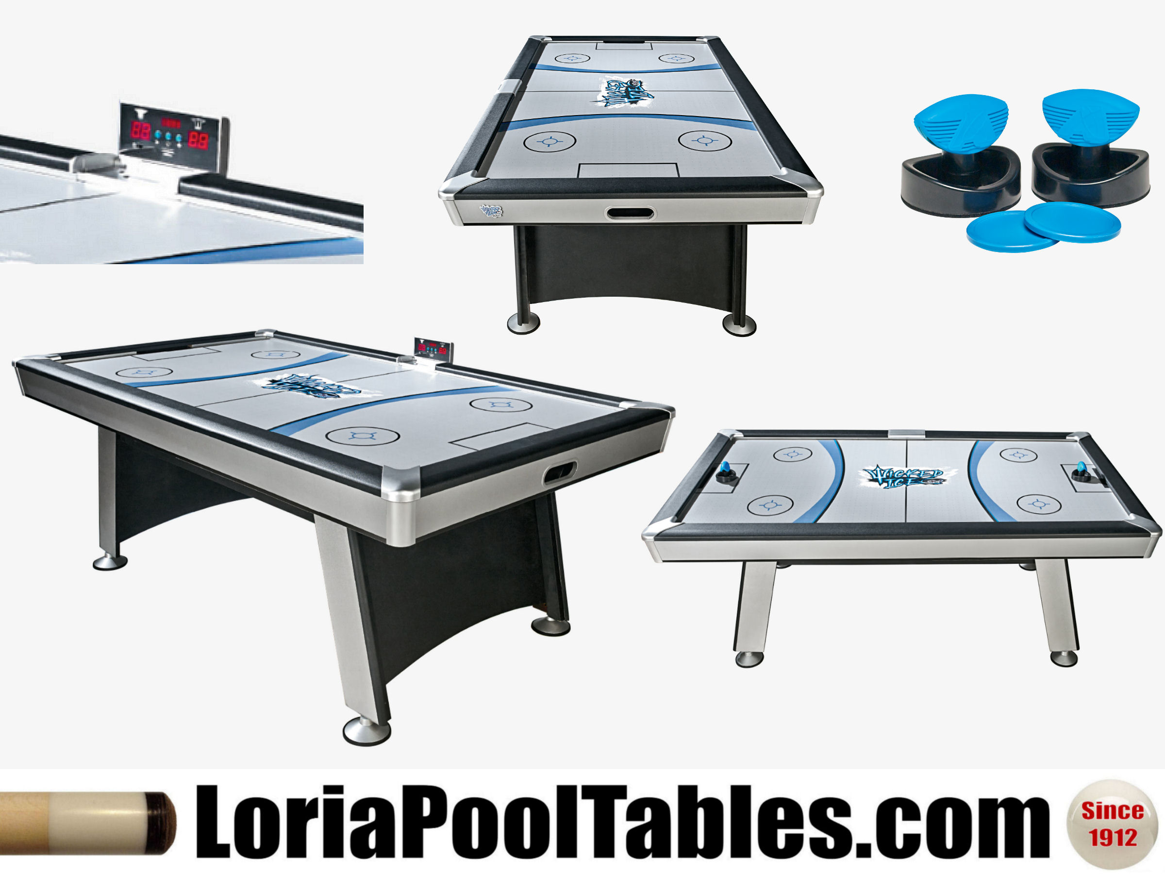 Wicked Air Hockey Table. Click On Thumbnail To Zoom