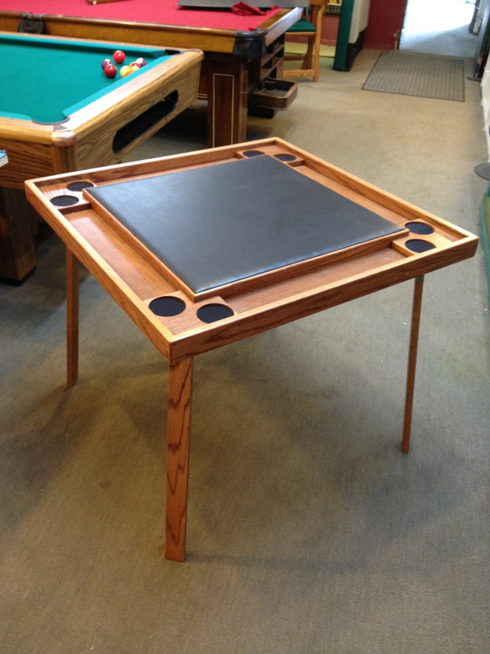 Card Game Table With Folding Legs Loria Awards