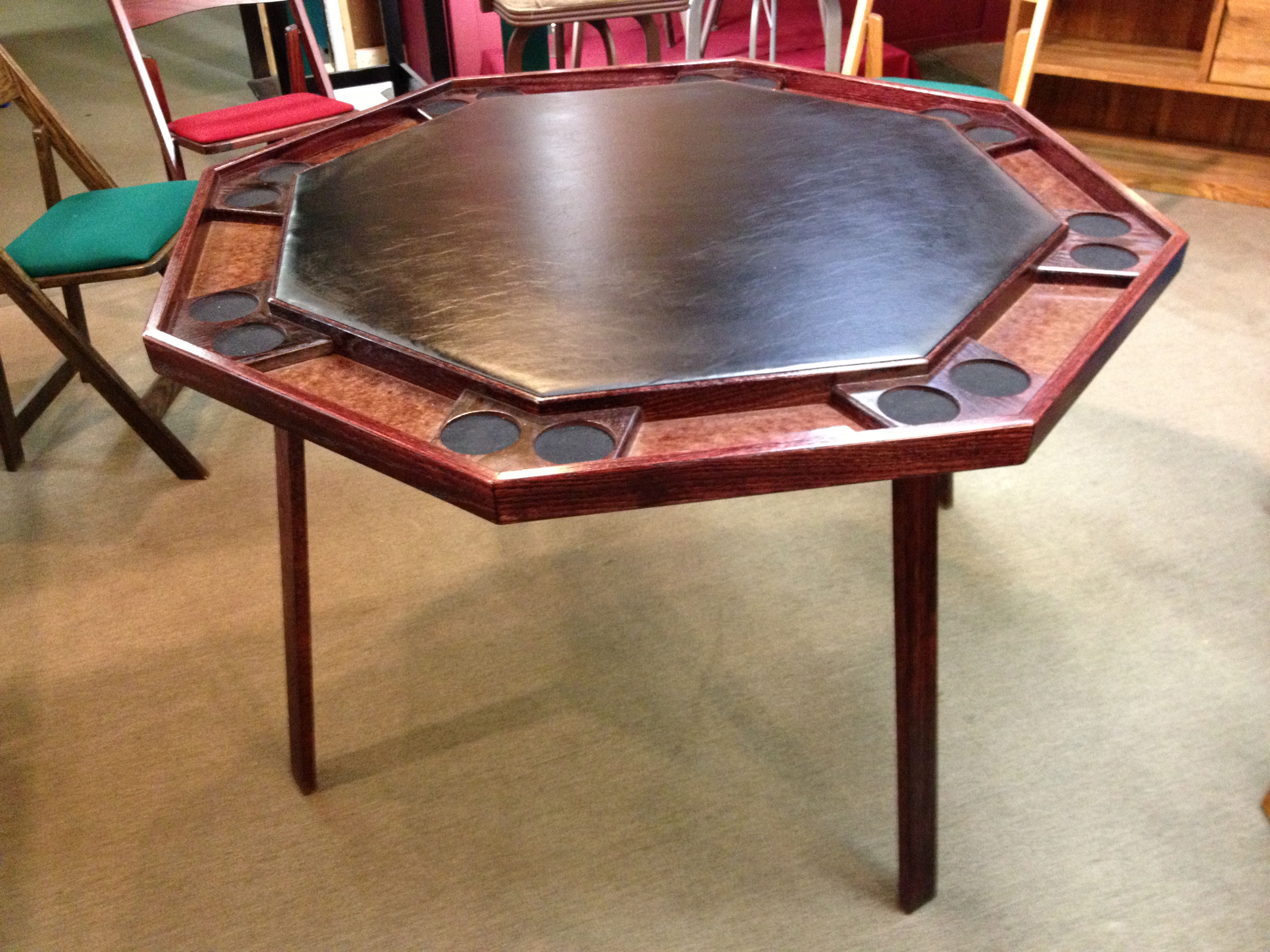 Poker table with folding legs loria awards for 52 folding table