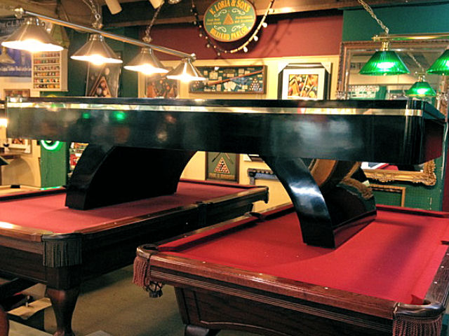 Sold Contemporary 9ft Pool Table Loria Awards