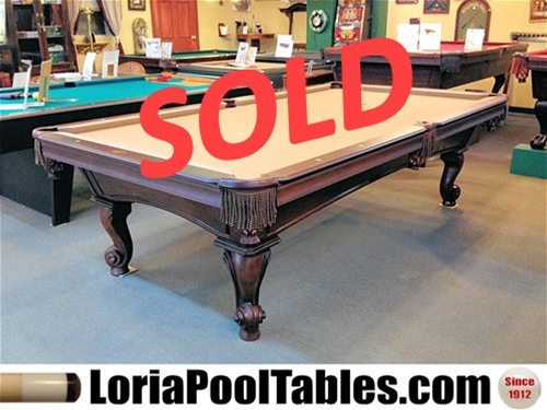 SOLD PreOwned Olhausen Ft Pool Table IMMEDIATE DELIVERY SET - Pool table delivery and setup