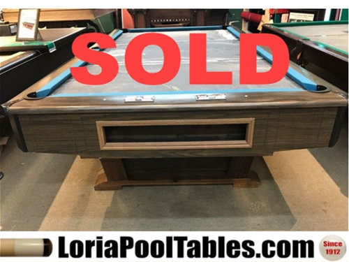 SOLD Pre Owned Ebonite 9ft. Pool Table   IMMEDIATE DELIVERY U0026 SET UP!