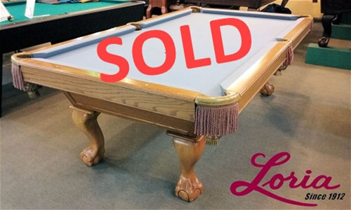 Brunswick \  Pool Table - IMMEDIATE DELIVERY \u0026 SET UP! Click image to enlarge & SOLD Pre Owned 8ft. \