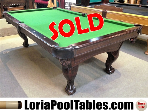 SOLD PreOwned Ft AMF Playmaster Pool Table Loria Awards - Amf pool table models