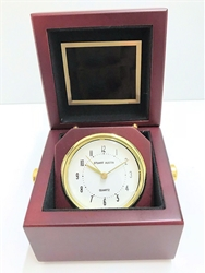TR-BC948 Mahogany Finish Box Clock