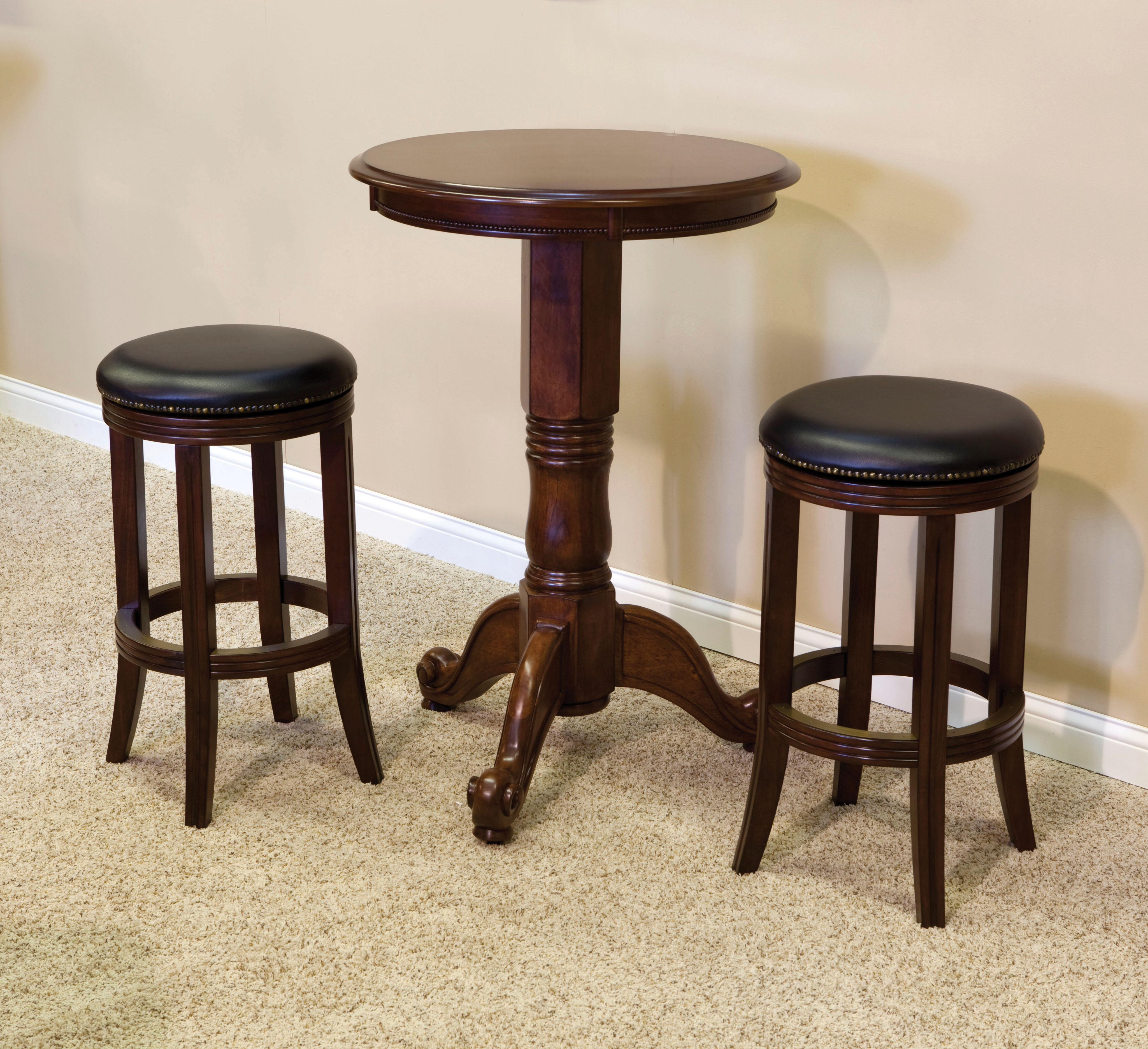 Beautiful Backless Swivel Bar Stools