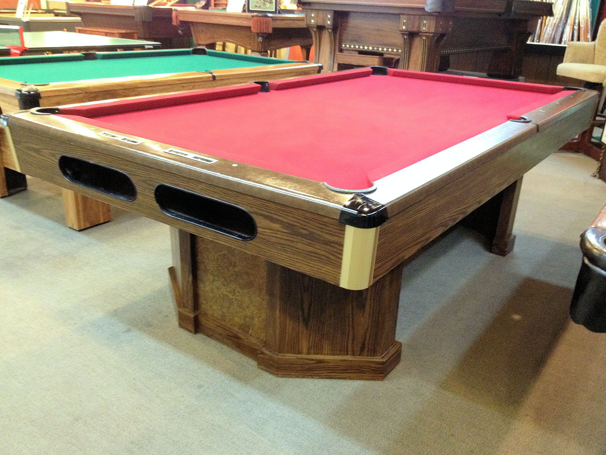 SOLD PreOwned Brunswick Anniversary Ft Pool Table Loria - Brunswick anniversary pool table for sale
