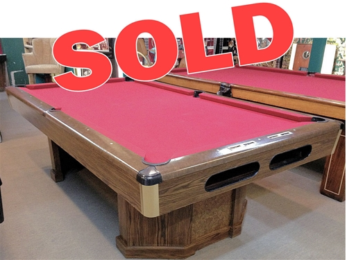 SOLD   Pre Owned Brunswick 130 Anniversary 8ft. Pool Table