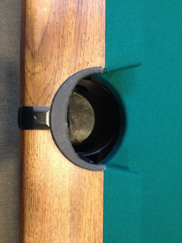 Sold Pre Owned Brunswick Bristol Ii 7ft Pool Table