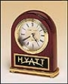 TR-BC46 Rosewood Arch Clock