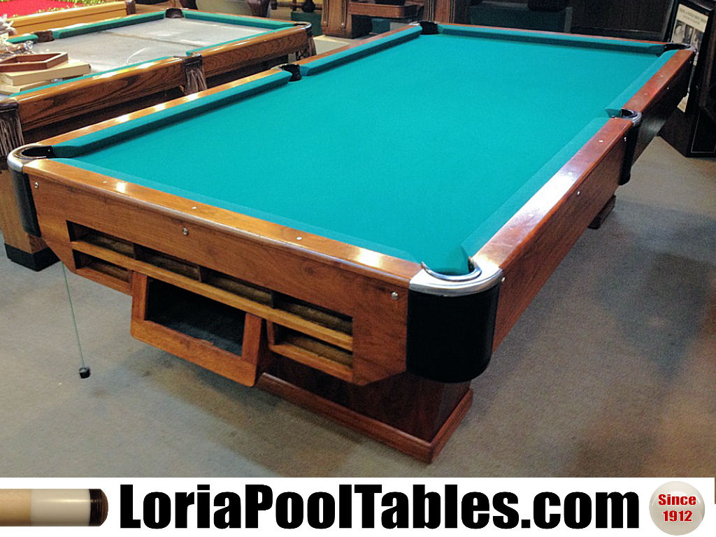 Sold Pre Owned Loria Deluxe Pedestal 9ft Regulation Pool
