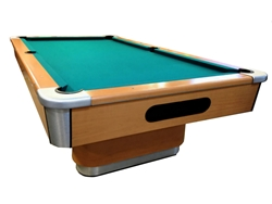 The Starlite Pool Table   Voges Pear Finish