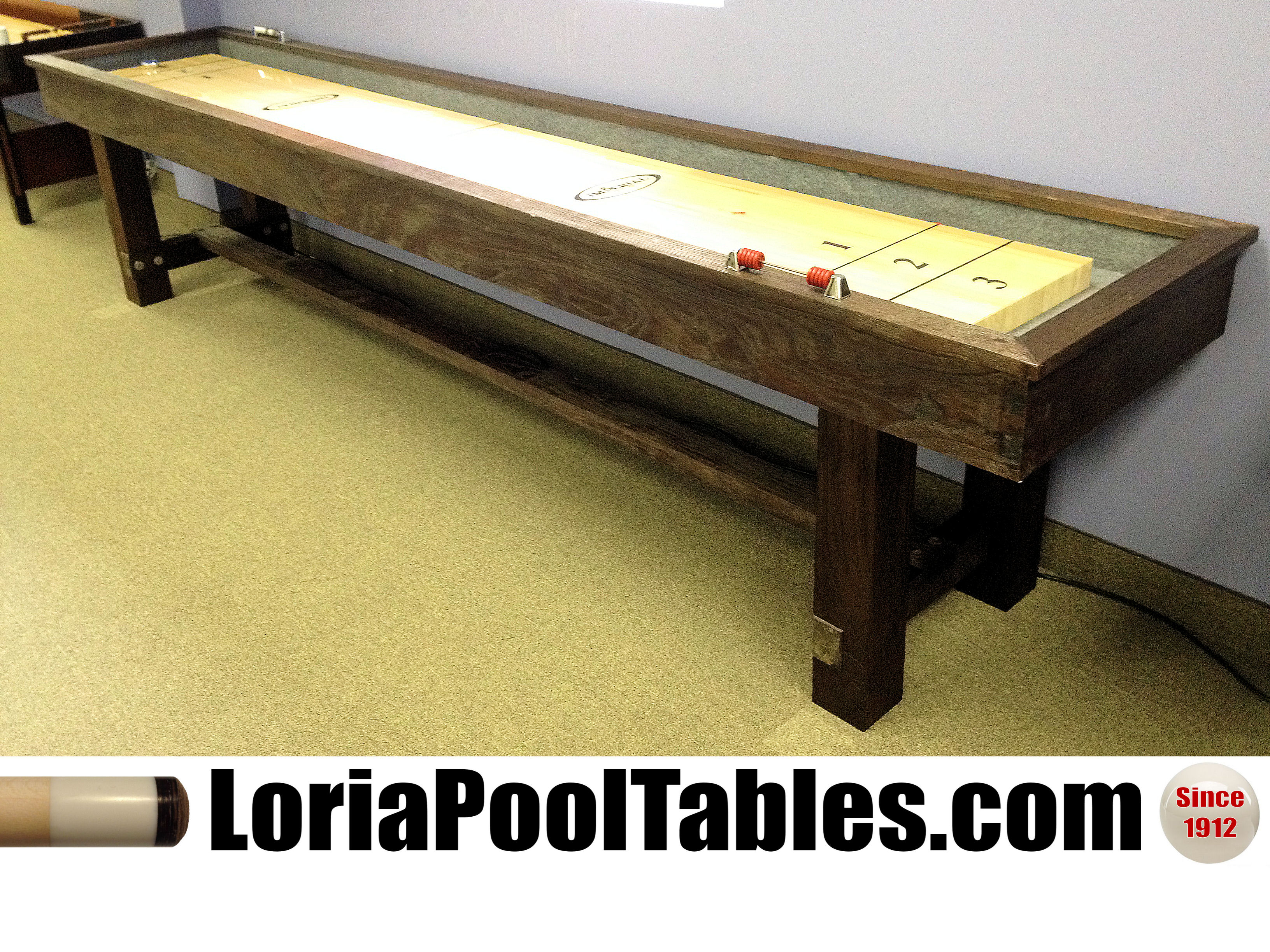 from buy the by order handmade a rustic shuffleboard theindustrialfarmhouse to custom table made