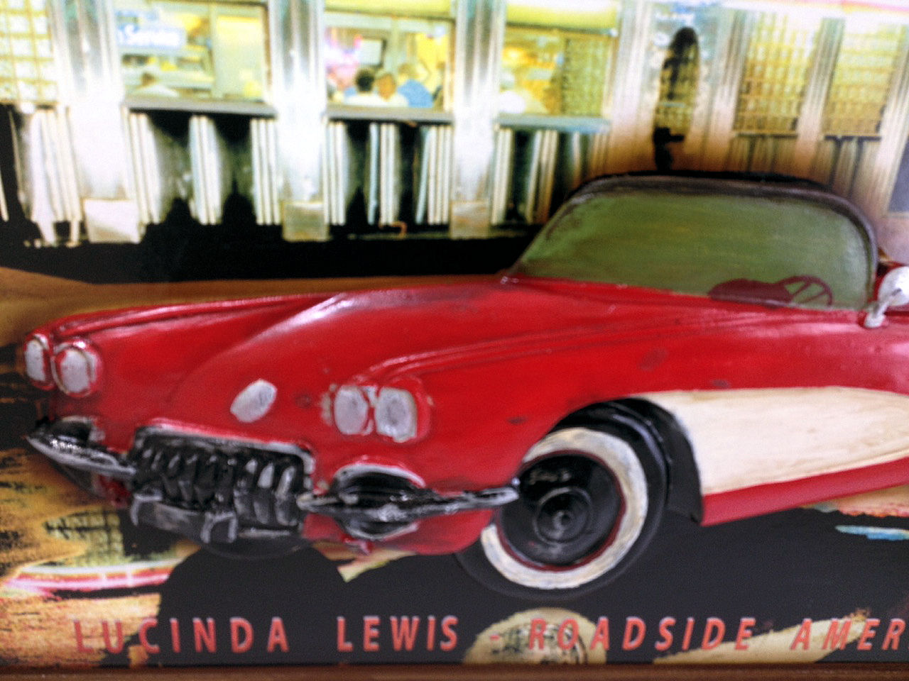Wall Sign For Game Room Pool Room Or Bar 1950s Corvette