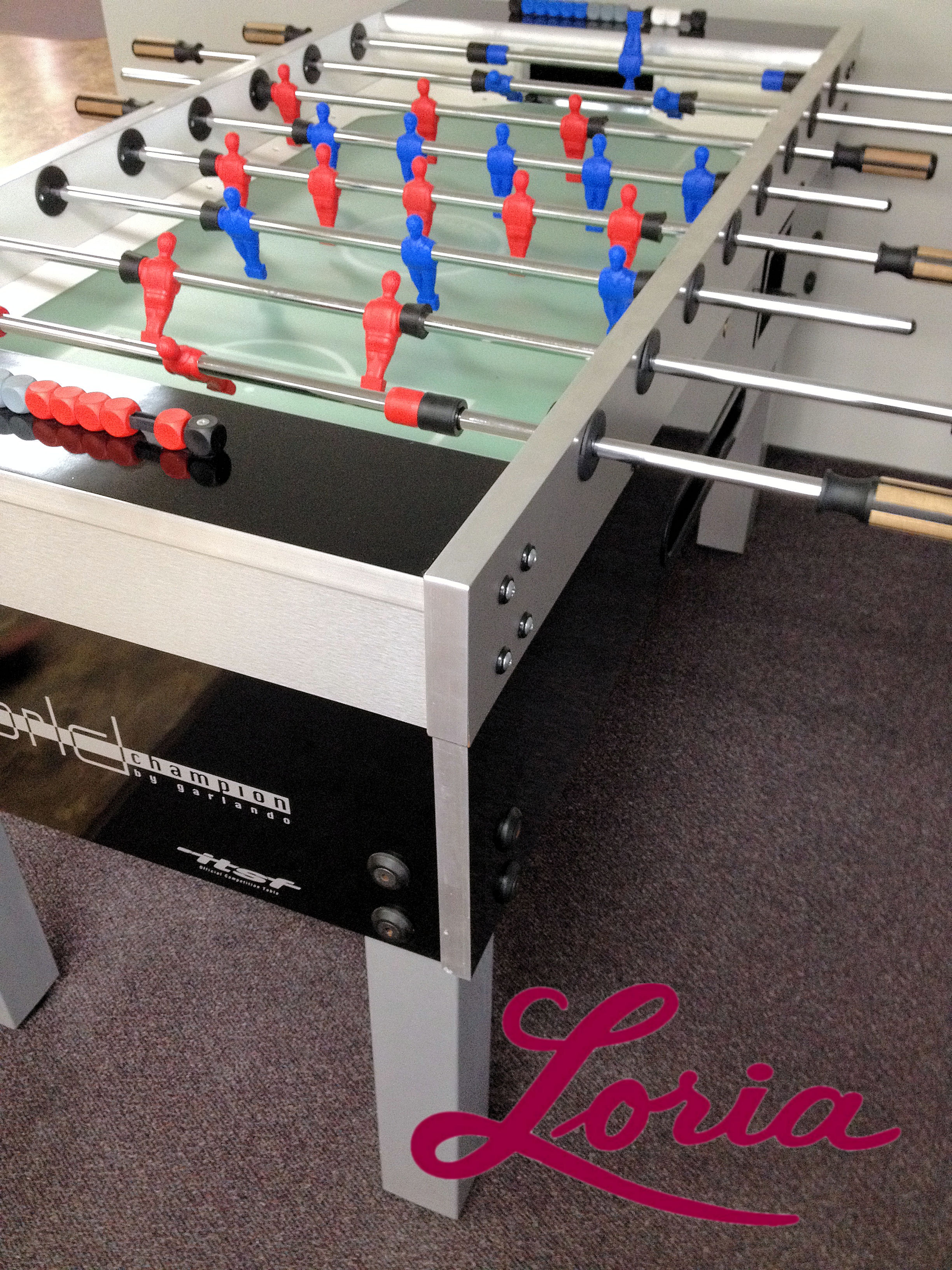 Garlando World Champion Coin Operated Foosball Table