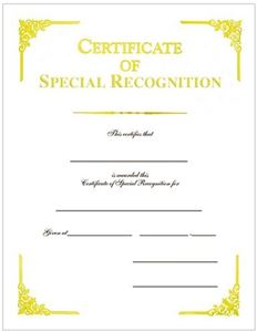 Certificate of special recognition gold foil cover weight white certificate of special recognition gold foil cover weight white parchtone c10718 yadclub Image collections