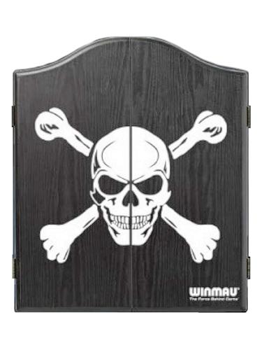 Skull And Bones Black Dart Board Cabinet Loria Awards